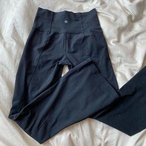 Lululemon High-Waisted Flared Yoga Pants